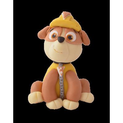 Figurka cukrowa z bajki Psi Patrol - Rubble