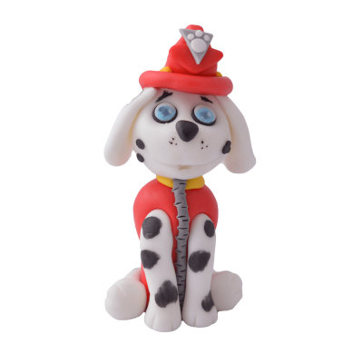 Figurka cukrowa z bajki Psi Patrol - Marshall