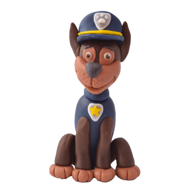 Figurka cukrowa z bajki Psi Patrol - Chase
