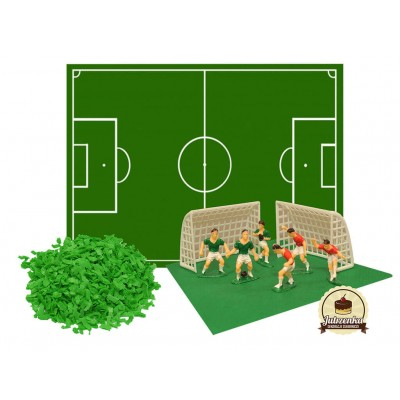 Zestaw piłkarski dekoracja cukrowa