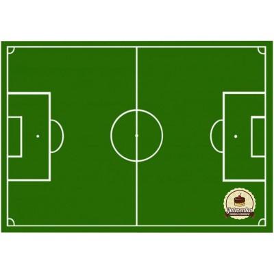 Boisko piłkarskie nadruk waflowy