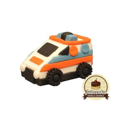 Figurka cukrowa samochodzik