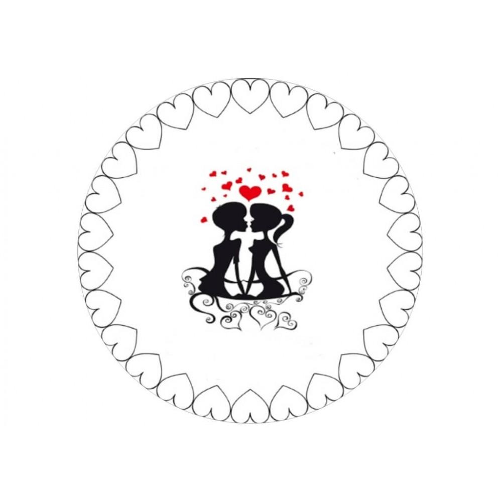 Nadruk jadalny Rocznica Ślubu 09