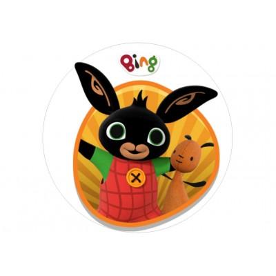 Nadruk jadalny królik Bing 05
