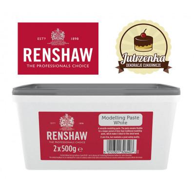 Masa cukrowa do modelowania biała Renshaw