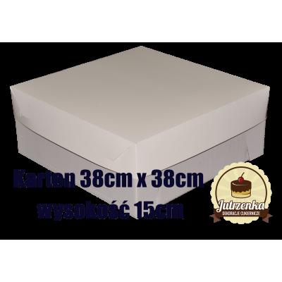 Karton 38cm x 38cm wysokość 15cm
