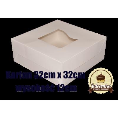 Karton 32cm x 32cm wysokość 12cm