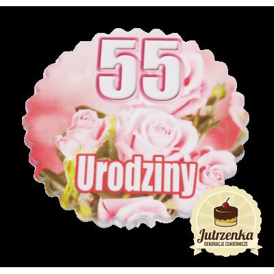 Tabliczka cukrowa W Dniu 55 Urodzin (A)