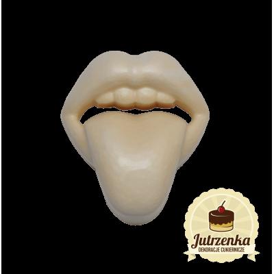 odlew usta z językiem