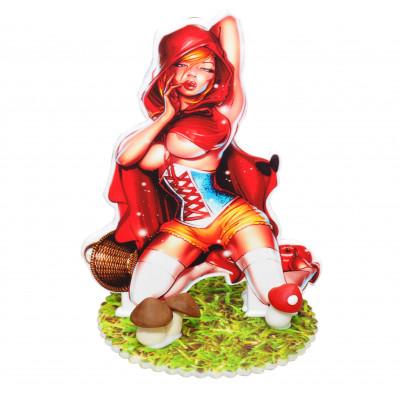 figurka 2D czerwony kapturek