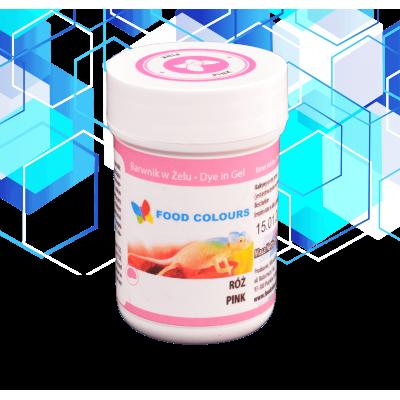 foods colours barwnik różowy 35g