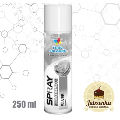 srebrny barwnik spray 250ml