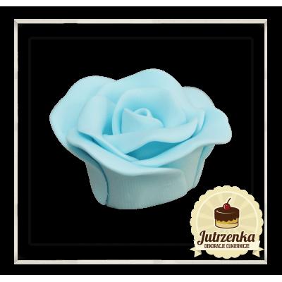 róża cukrowa kolor niebieski