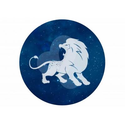 oplatek_na_tort_lew_zodiak