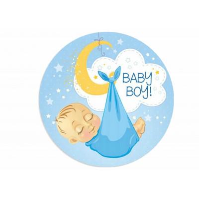 Nadruk na waflu A4 BABY SHOWER - 6