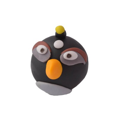 Figurka cukrowa Angry Birds czarny