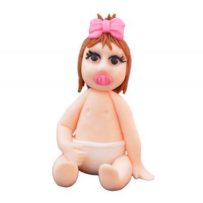 Figurka cukrowa Bobas dziewczynka