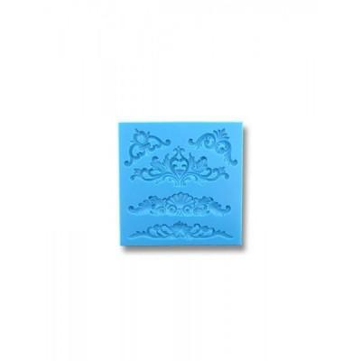 Ornamenty Królewskie (5 szt.) - Forma silikonowa