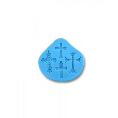 Krzyżyki Małe (4 szt.) - Forma silikonowa