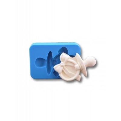 Smoczek z kokardą - Forma Silikonowa