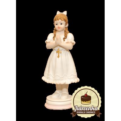 Figurka cukrowa Dziewczynka I Komunia Święta