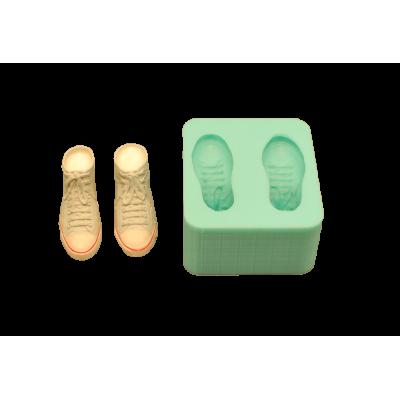 forma silikonowa trampki