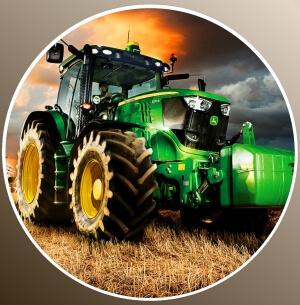 nadruki jadalne na tort traktory